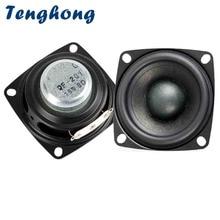 hot deal buy tenghong 2pcs 2 inch audio speakers 4/8 ohm 20w treble mediant bass full range speakers stereo loudspeaker for home theater diy