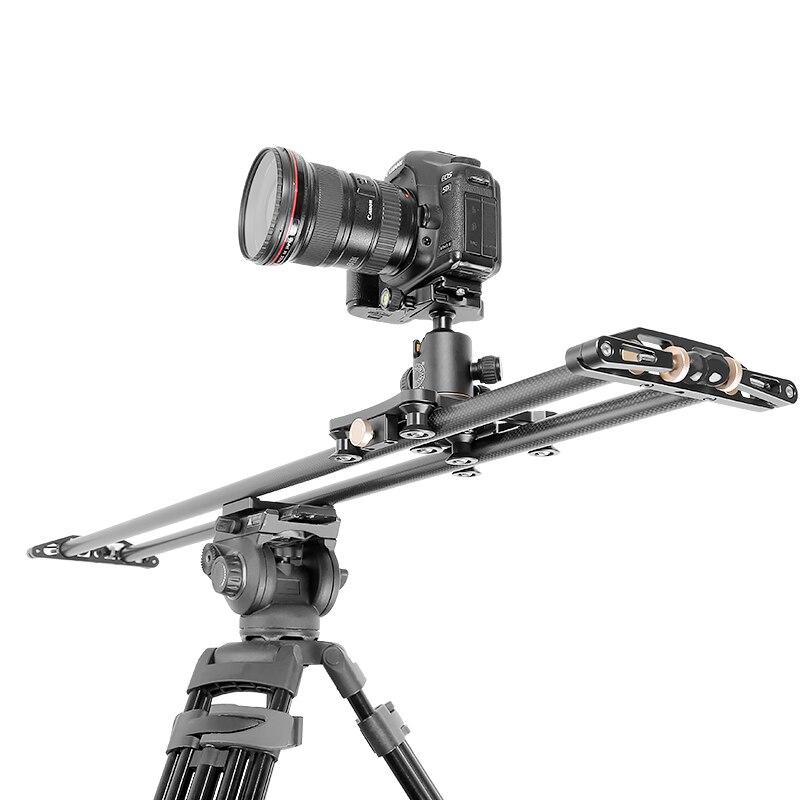 QZSD камера слайдер 10 кг bearCarbon волокно путешествия Видео слайдер Долли трек dslr рельс для Nikon Canon sony Видеограф