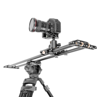 QZSD camera slider 10kg bearCarbon fiber travel video slider dolly track dslr rail for Nikon Canon Sony videographer
