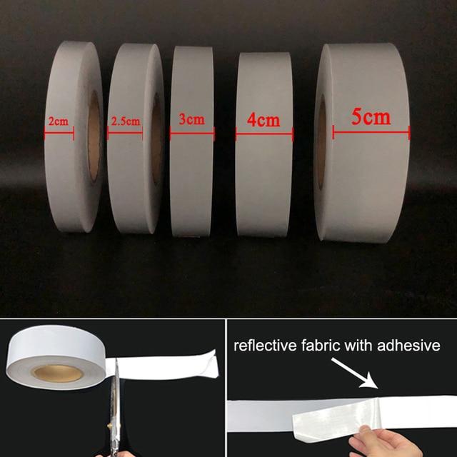 3M yeni varış birçok boyutu kabul edilebilir yansıtıcı yapışkanlı kumaş