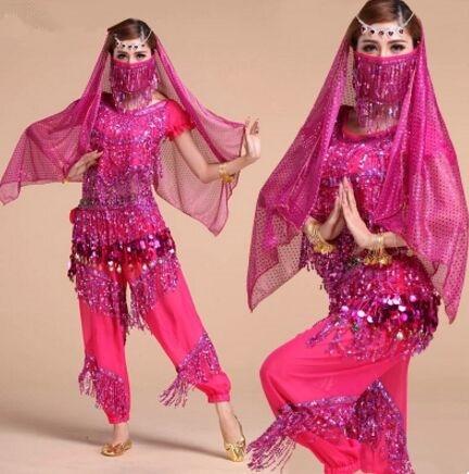 Costumes de danse indiens traditionnels pour femmes costume de danse du ventre indien vêtements de danse indienne