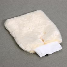 Double sided Soft Wool Car Washing Glove