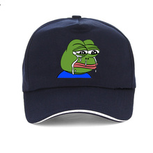 James Sad Frog print Adjustable Baseball Cap men women Pepe Life Sucks Hat Dad Strap back Meme gorras