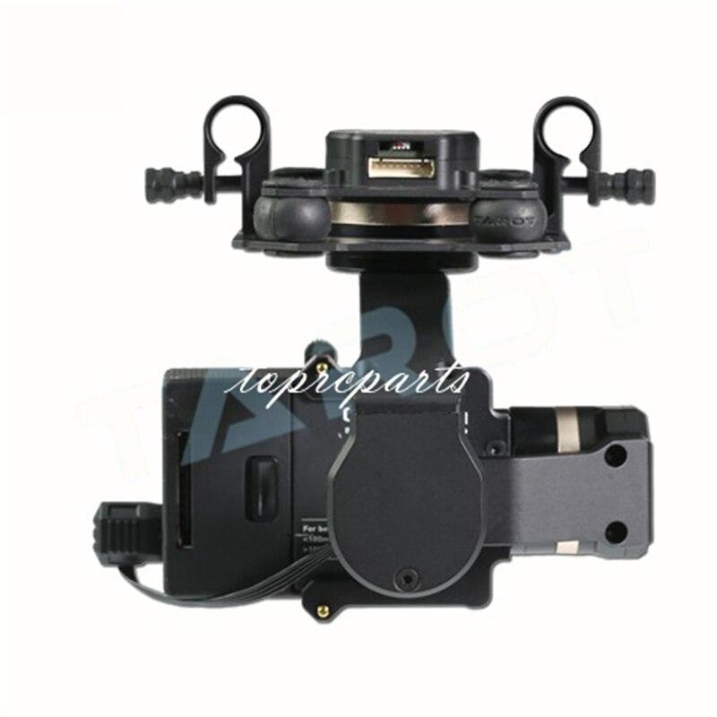 Tarot TL3T01 3 Aixs cardan sans brosse pour bricolage RC Drone caméra Gopro HERO3 HERO4 Sport caméra photographie aérienne FPV - 3