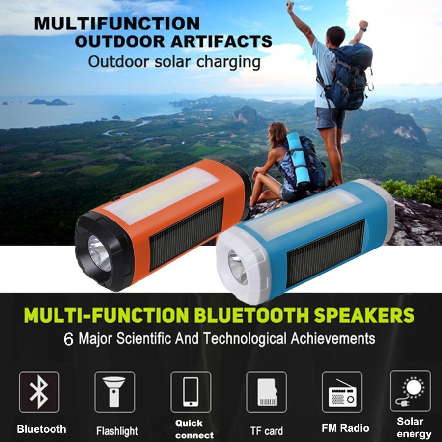 AIDISITE Günəş Bluetooth Dinamik Simsiz LED Fənər Portativ - Portativ audio və video - Fotoqrafiya 2