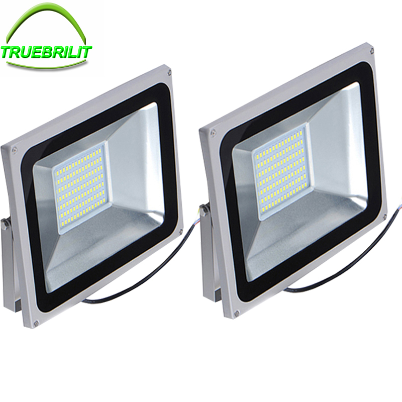 IP65 Outdoor Floodlights LED Flood lights 10W 20W 30W 50W SMD 5730 Reflector AC110V 220V  Waterproof Lighting Garage