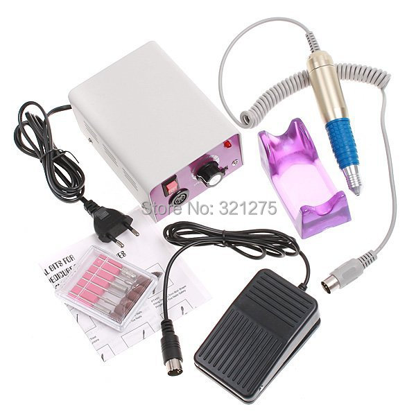 цена на Free shipping/Drop shipping electric manicure pedicure nail drill&automatic nail painting drill