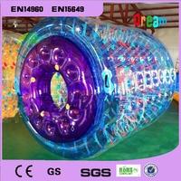 Kostenloser Versand 3 m Große Aufblasbare Wasser Roller Aufblasbare Fuß Roller Ball Aufblasbare Wasser Roller Ball Wasser Zu Fuß Ball|Spielzeugkugeln|   -