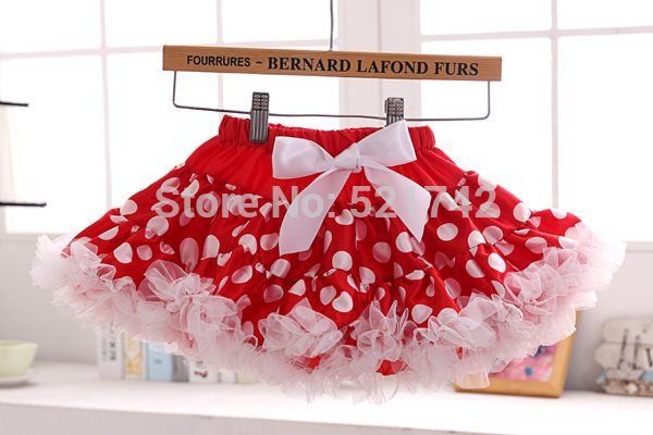 cute fluffy girl Pettiskirts baby girls skirt  kids skirt vintage style children festival clothing ST141006