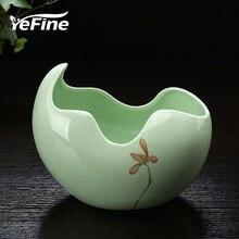 YeFine керамический цветочный горшок для сада сочные растения краткое Ремесла домашний декор карликовые деревья кашпо офисные декоративные вазы