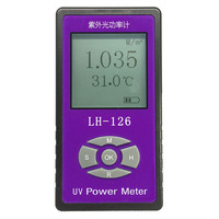 UV Power Meter Light Irradiance Tester Radiometer Transmittance Blocking Rate Solar Films Tester Glass Cloth