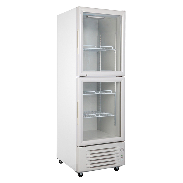 348L Double Door Glass Display Showcase Beer Beverages Cooler Commercial Upright Refrigerator Merchandise Direct Cooling 12.3  sc 1 st  AliExpress.com & 348L Double Door Glass Display Showcase Beer Beverages Cooler ...