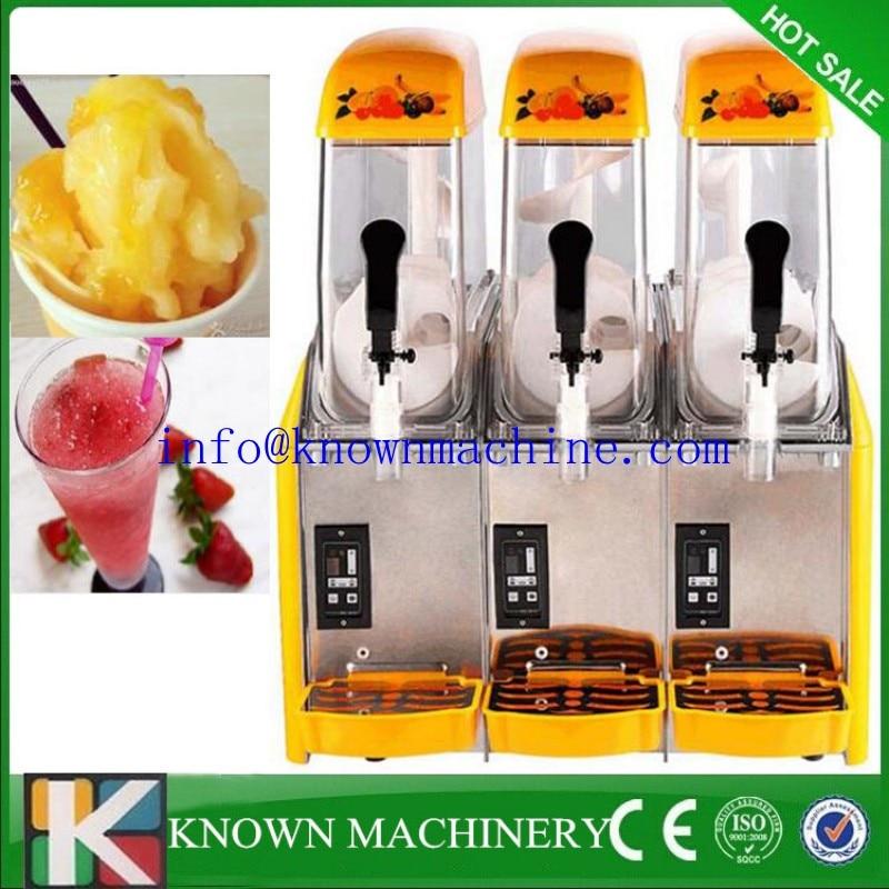 Free DHL 12*3 slush machine smoothies making machine for sale