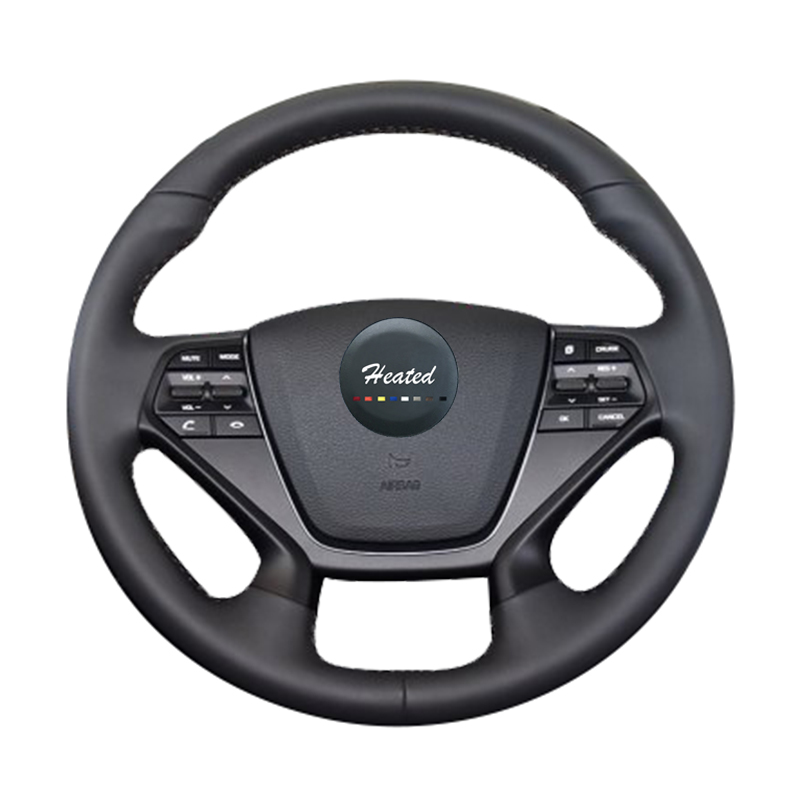 Steering Wheel Cover For Hyundai LF Sonata 9 2015 2016