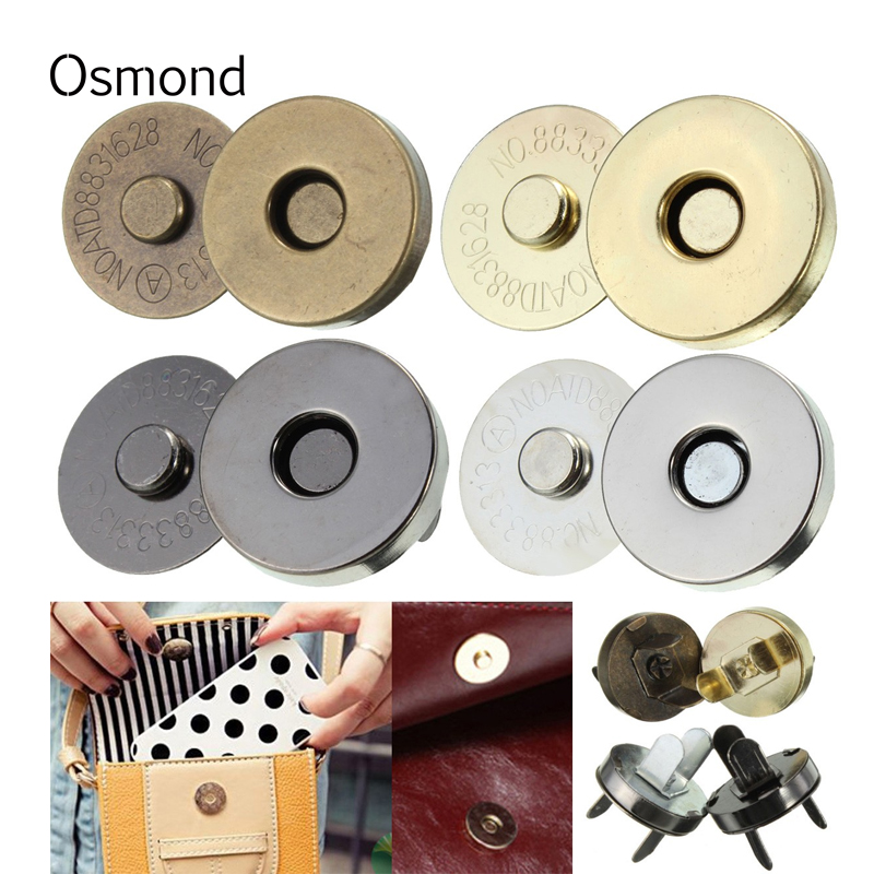 Parts-Accessories Wallet Bags Purse Buttons Handbag Snap-Fasteners Clasps Replacement-Button