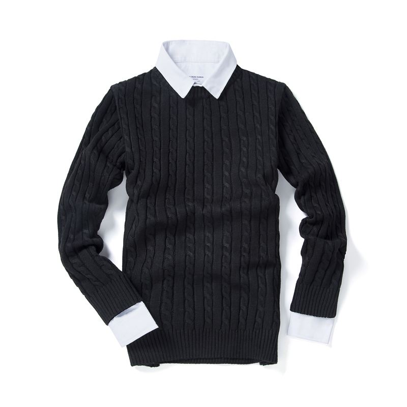Multi Color Choice Mens Sweaters Winter New Teens Slim And