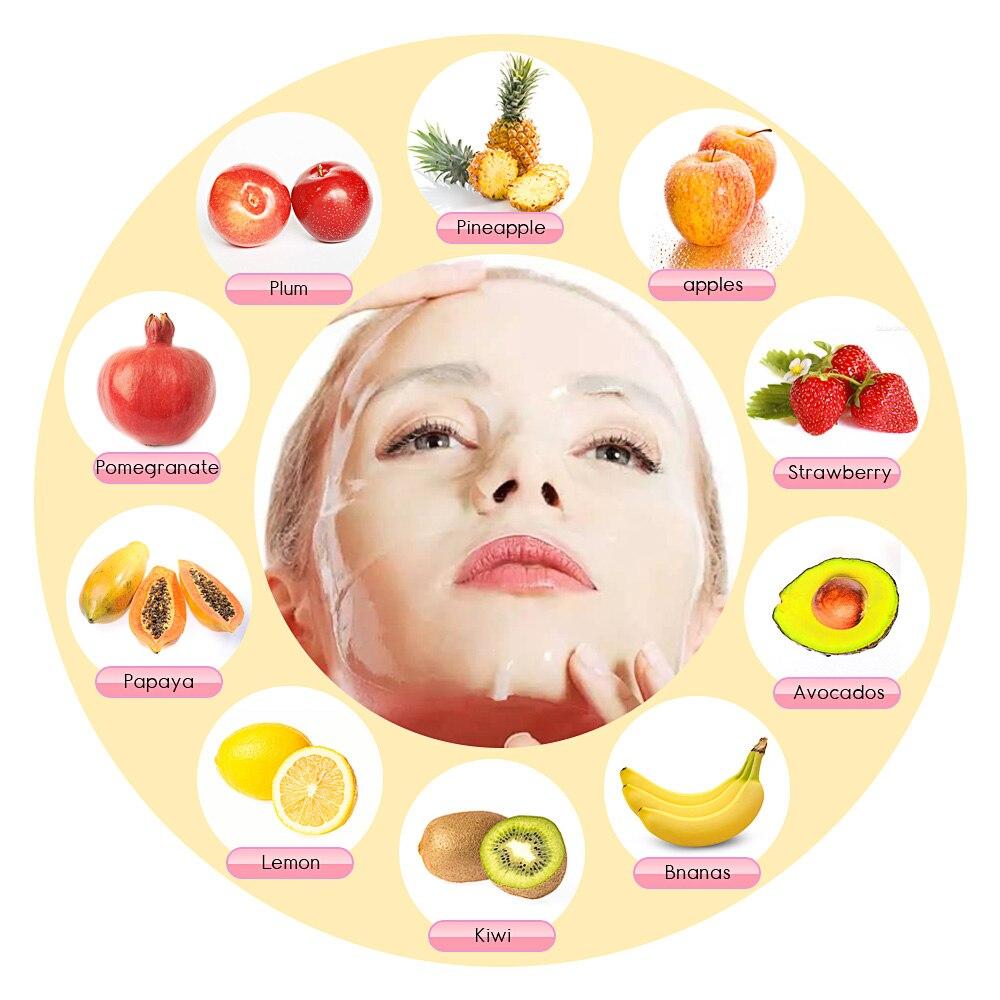Maska na twarz maszyna do twarzy leczenia DIY automatyczne owoce naturalny kolagen roślinny do użytku domowego Salon SPA pielęgnacja Eng głos w Przyrządy do pielęgnacji skóry twarzy od Uroda i zdrowie na  Grupa 3