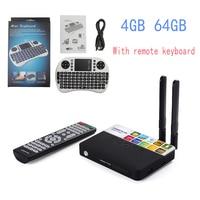 CSA93 Plus Android 8,1 Smart tv Box 4 Гб 64 Гб RK3328 четырехъядерный двухдиапазонный 2,4G 5G WiFi Bluetooth 4,0 tv box USB 3,0 HD
