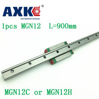 12mm Linear Guide Mgn12 L= 900mm Linear Rail Way + Mgn12c Or Mgn12h Long Linear Carriage For Cnc X Y Z Axis