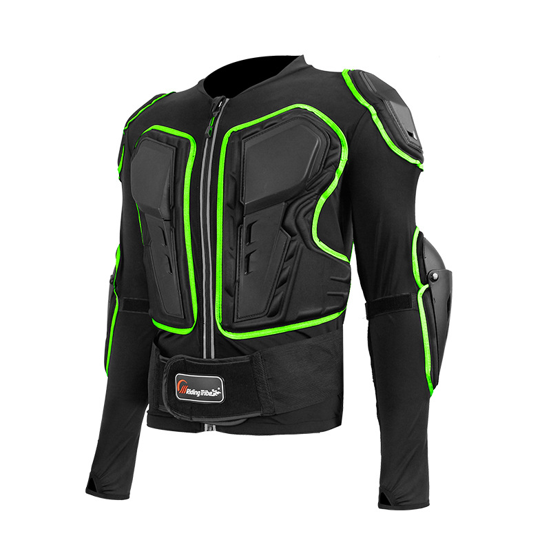 Moto armure Motocross tout-terrain course motard élasticité vêtements équipement de protection respirant réfléchissant vestes armure corporelle