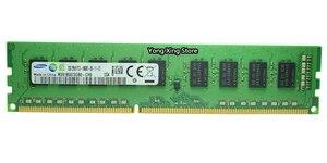 Image 5 - سامسونج DDR3 2GB 4GB 8GB 1333MHz 1600MHz نقية ECC UDIMM خادم الذاكرة 2RX8 8G PC3L 12800E محطة العمل RAM 10600 12800 غير مخزنة