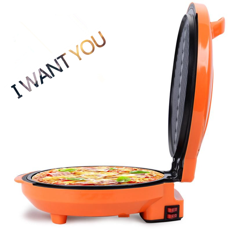 2018 new Electric pancake maker Multifunction machine cake pizza and grill DIY breakfast cake machine electric pizza maker все цены