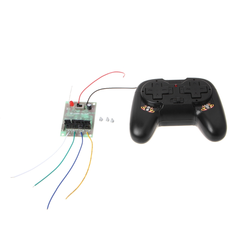 4CH 2.4G Wireless RC Toy Module Remote Control Receiver Transmitter 5A 50M Kit Remote Control Parts 2018
