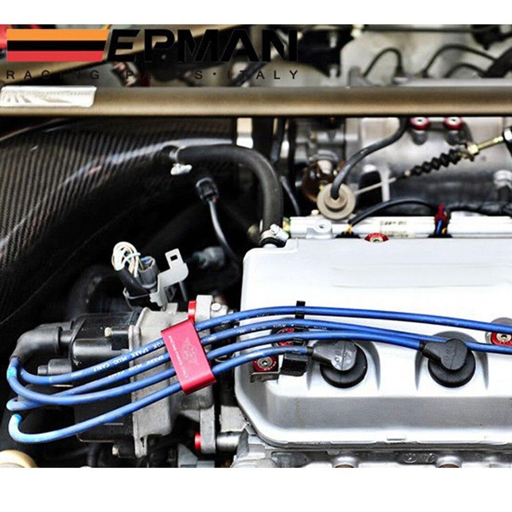 SPARK PLUG WIRES BILLET WIRE SEPARATORS DIVIDERS DEFAULT FOR Honda ...
