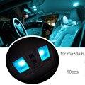 Para Mazda 6 Carro LED luzes Interiores Lâmpadas lâmpada de leitura lâmpada Decoração Do Carro Styling 10 pçs/set