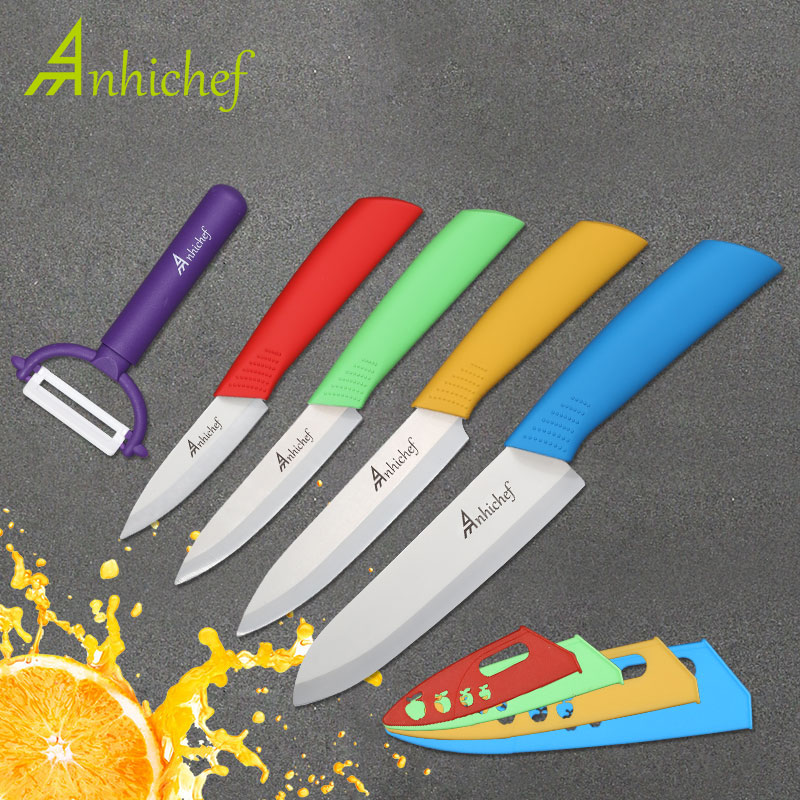 Kitchen Knives Ceramic Knives cook 3 Paring 4 Utility 5 Slicing 6 chef Knife Cooking Tools
