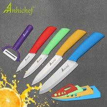 Кухня ножей Керамика ножи готовить 3 «кожура 4» утилита 5 «нарезки 6» шеф-повар Ножи Пособия по кулинарии инструменты нож Овощной ножей
