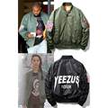 YEEZUS Tour Ma1 Bomber Jacket Men Women Kanye West Pilot Man Coats Thin & Thick Fashion European Size Army Brand Hip Pop Jackets