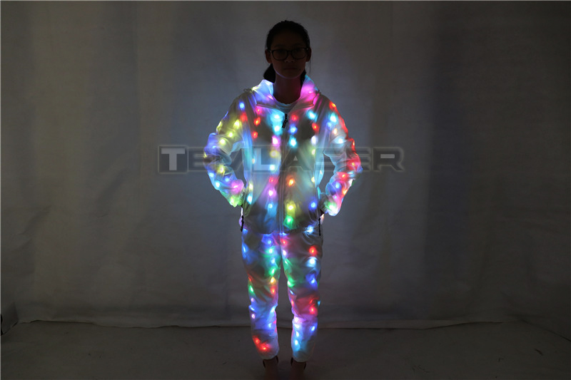 LED Luminous Couple Suit Unisex LED Luminous Jacket FOR