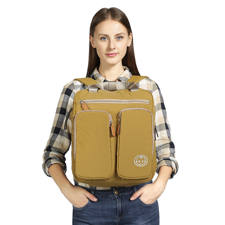 Mummy bag shoulder multi-functional large-capacity mother bag backpack maternal child travel pregnant women package Mommy bag burst fashion large capacity mummy bag multifunctional diapers bag manufacturers supply maternal formaldehyde free shipping