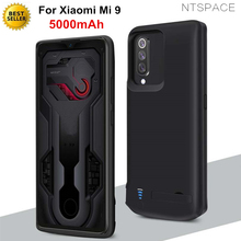 NTSPACE Portable Power Bank Pack Charging Cover Case For Xiaomi Mi 9 Battery Charger Cases 5000mAh Extenal Powerbank Case Coque цена 2017