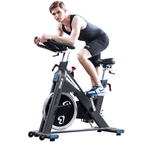 Pooboo Stationary Belt Drive Flywheel Workout Exercise Bike