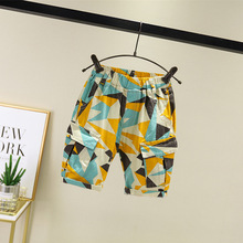 Boys midsummer  2019 thin pants for kids are in high fashion