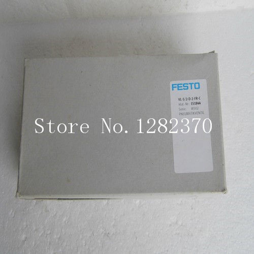 New original authentic FESTO solenoid valve VL-5/2-D-2-FR-C spot 151844 pair of chic turquoise feather tassel earrings for women