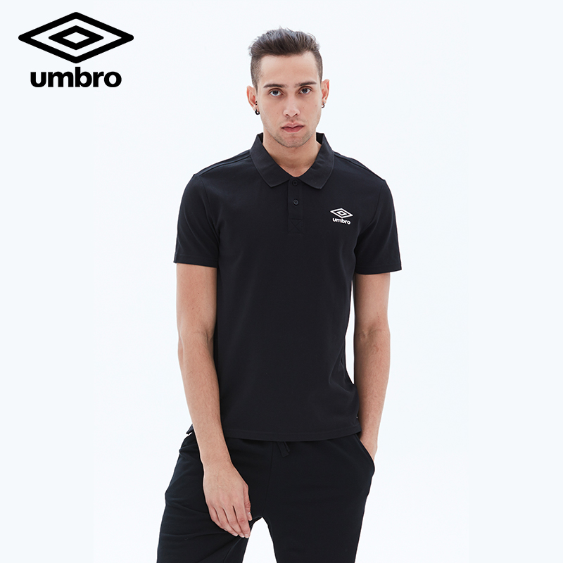 Umbro Summer Mens Short Sleeved Polo Shirt Same Owen T-shirt Training Polo T-Shirt Tops Tee Sports Life UCC63121
