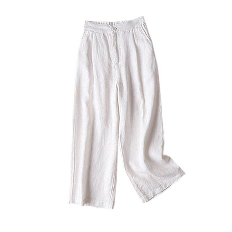 2019 Pantalones Mujer Verano Casual Moda De Impresion Vendaje Bolsillo De Pierna Ancha Pantalones Cortos De Cintura Elastica