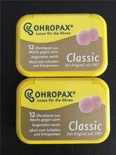 6pairs Original Ohropax Classic Wax Earplugs Comfortable Wax Ear Plugs Traval Sleeping Noise Reduction Earplugs