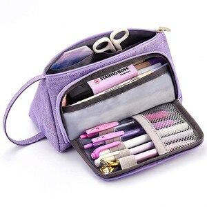 Image 4 - Big Capacity Girl Storage Bag Travel Organizer Cosmetic Storage Bags Portable For Travel Handbag Orgnazer Makeup Storage 2019