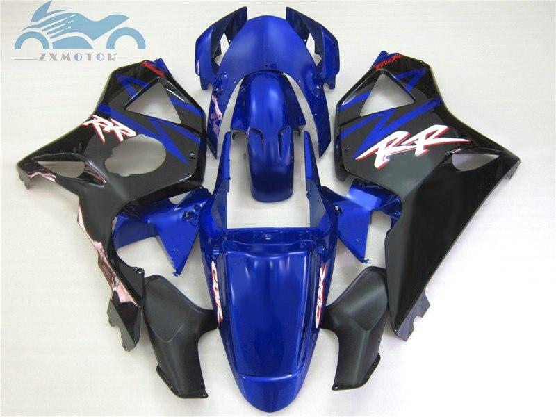 Carénages de moto en plastique ABS pour CBR900RR 2002 2003 noir bleu pièces de réparation de carrosserie carénage CBR954 CBR 900RR 02 03