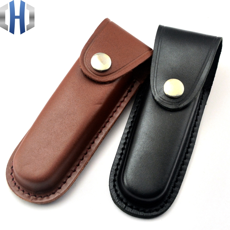 Sheath / Knife Holster Leather Knife The First Floor Leather Knife Sheath Leather Sheath Knife Folding Sheath 13.8cm