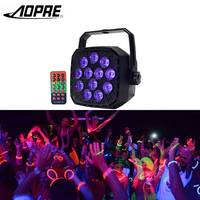 AOPRE UV Led Stage Light Disco Light Ball With DMX 512 12W Stage Lighting Effect Lights