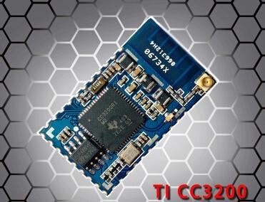 25PCS LOT cc3200 spi uart wifi module