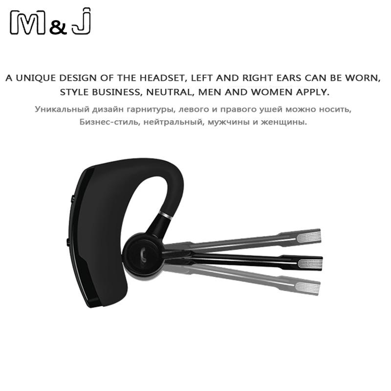 M & J сымсыз Bluetooth гарнитурасы Handsfree - Портативті аудио және бейне - фото 3