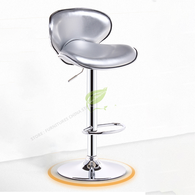 Modern Bar Stool Iron Bar Chair Bar Stool Seat Bar Furniture Make Up Chair Beauty Salon Furniture Modern Simplicity Lifting