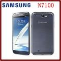 Oringnal teléfono celular n7100 samsung galaxy note 2 n7100 teléfono móvil 5.5 pulgadas 8.0MP 2 GB RAM 16 GB ROM Quad Core Envío Gratis