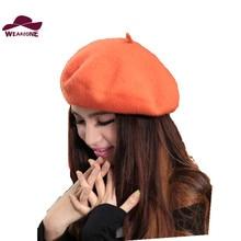 Nouvelle chapeau Hiver Vintage Bérets fe ...